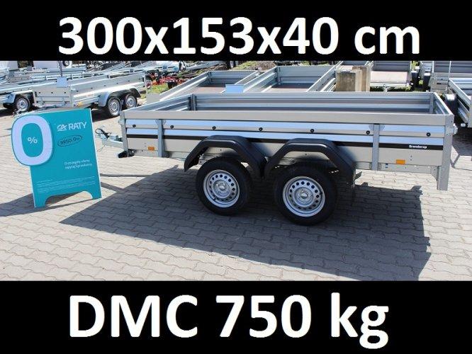 Przyczepa samochodowa Brenderup 2300 DMC 750 kg 2 osie