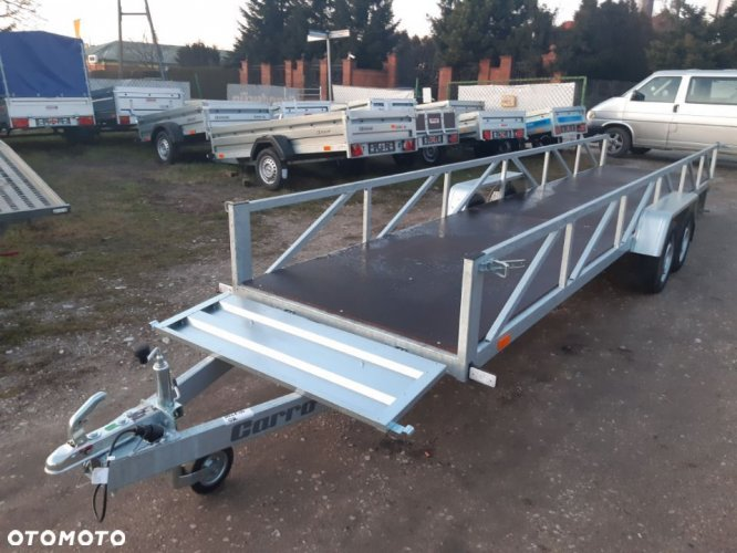 Przyczepa Carro Dłużyca 6015x125 cm 2 osie