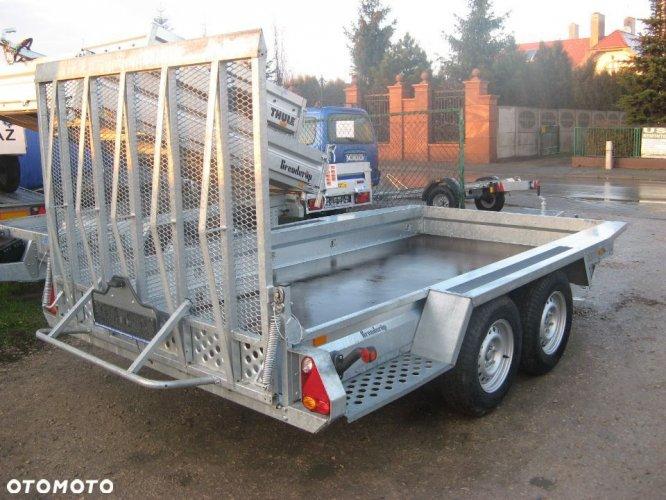 Brenderup Przyczepa MT 3651 , 365x180 cm , 3,5 T