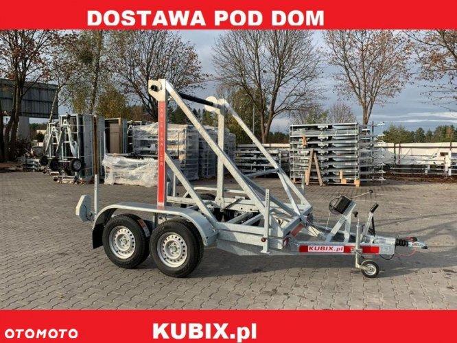 GEWE Przyczepa kablowa P3500D/3 dwuosiowa hamowana o DMC 2700kg