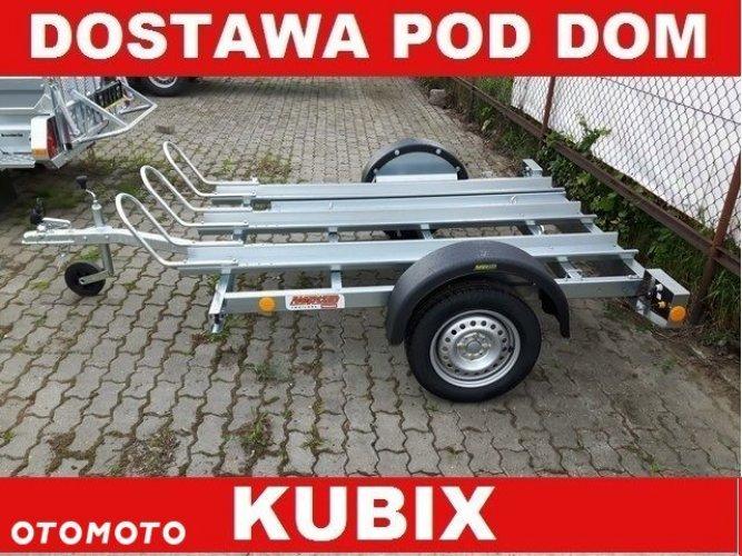 Neptun Przyczepa Przyczepka MOTOCYKLOWA, na trzy motory, lekka 750kg, uchylna - DOSTAWA!!