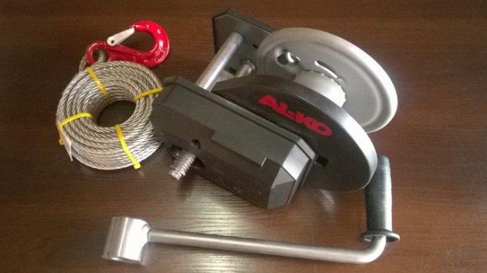 Profesjonalna wciągarka ręczna ALKO 901 PLUS z liną 12,5mb