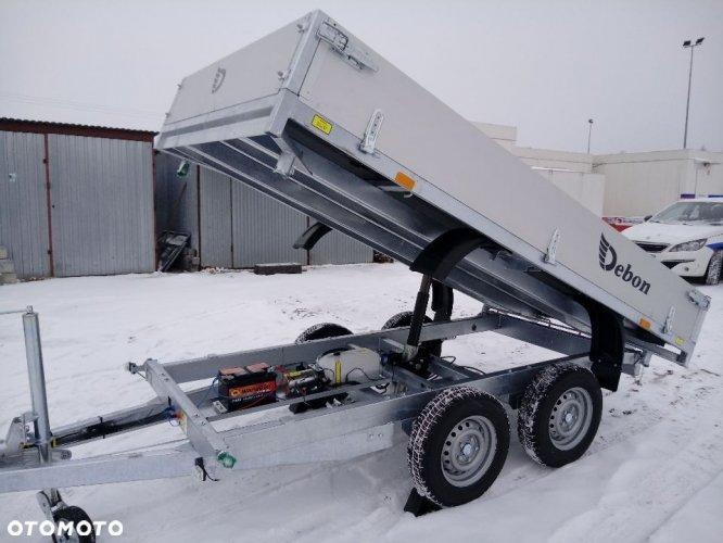 Debon wywrotka trzystronna pw2,2 lekka do osobówki terenówki, busa, hydraulika, najazdy do minikoparki/kosiarki/minitraktora