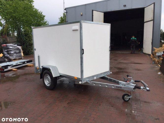 MARTZ Przyczepa Martz Kargo 250 250x125x150cm DMC1500KG kontener furgon sklejkowy Częstochowa od ręki