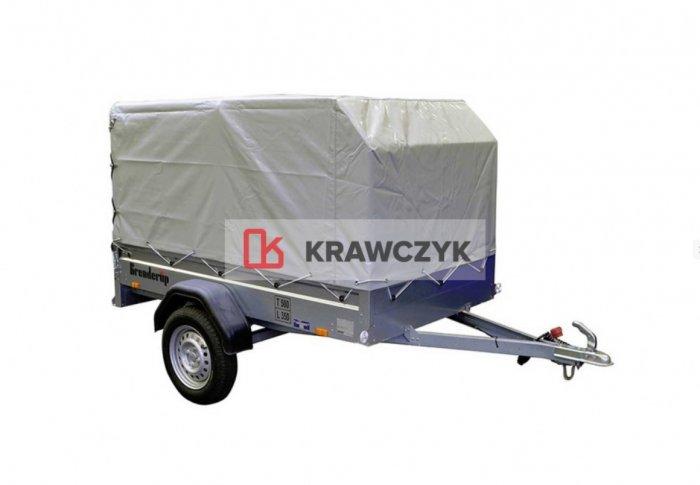 WYNAJEM Przyczepa THULE Brenderup 2260/plandeka 750kg