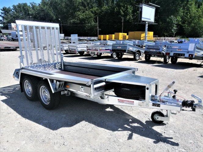 Przyczepa do przewozu maszyn BRENDERUP MT2600 DMC 2600kg