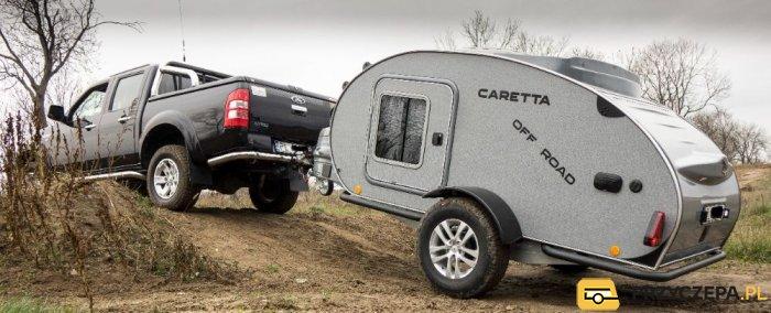 Caretta Off-Road NOWA przyczepa turystyczna wyprawowa