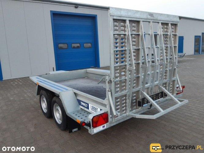 Lorries Przyczepa TPM27 313x160cm 2700 kg koparka bobcat